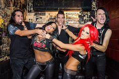 Find tour dates and live music events for all your favorite bands and artists in your city. Get concert tickets, news and RSVP to shows with Bandsintown Chris Warner, Funky Hair Colors, Butcher Babies, Ladies Of Metal, Heavy Metal Girl, Women Of Rock, Music Images, Concert Tickets, Thrash Metal