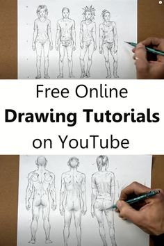 Drawing Techniques, Drawing Tips, Drawing Sketches, Sketching, Art Drawings, Learn To Sketch, Learn To Draw, Online Drawing, Online Painting