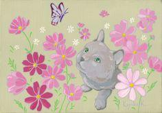 植物画「みーつけた」[Kayoko]   ART-Meter