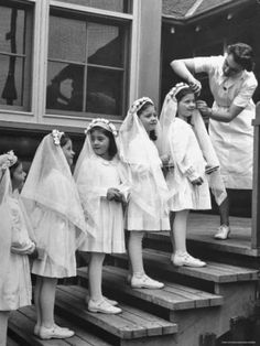 First Communion, 1930s cover of Life Magazine