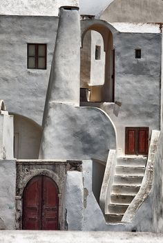 Santorini favela of dreams