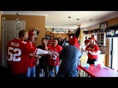 SF 49ers vs ATL Falcons NFC Championship 2013: Fans Reaction