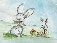 Victoria Stitch: Pookie the Rabbit with Wings