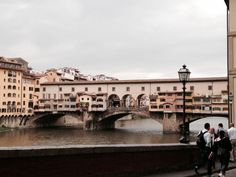 The Old Bridge in Florence.
