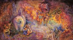 """""""Once Upon a Time (zoom 1)"""" par Josephine Wall"""