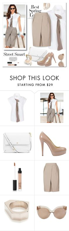 """""""My Kind Of Style"""" by passion-fashion-2 ❤ liked on Polyvore featuring H&M, Tory Burch, Christian Louboutin, NARS Cosmetics, Marni and Linda Farrow"""