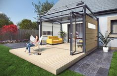 option2large Vista Patio Rooms, Carports Canopies
