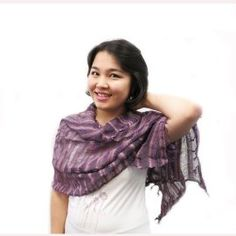 Light and airy scarf. Handmade by Thai farmers as a secondary source of sustainable income for their families. $23