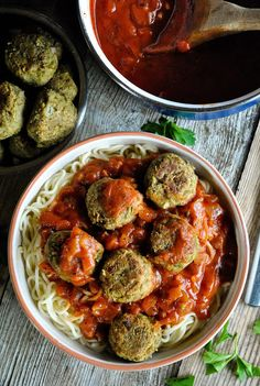 The best and easiest lentil balls. Six ingredients and gluten free!  http://www.vegansandra.com/2016/10/the-best-and-easiest-lentil-balls.html