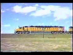 ▶ UP CentennialPacing & Runbys From Cheyenne To Sherman Summit - YouTube