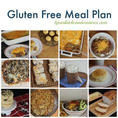 Gluten Free Menu Plan::November 29-December 5  {Chili, Chili Cheese Fries, GF Biscotti, & More!}
