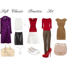 """""""Soft Classic Practice Set"""" by julializz on Polyvore"""