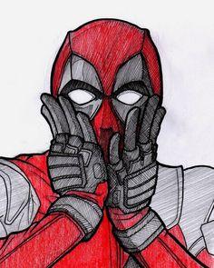 deadpool drawing - Drawing Tips zeichnungen Deadpool Painting, Deadpool Fan Art, Deadpool And Spiderman, Deadpool Funny, Deadpool Quotes, Deadpool Tattoo, Deadpool Costume, Deadpool Movie, Female Deadpool