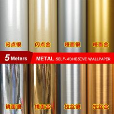Cheap decorator fabric manufacturers, Buy Quality fabric information directly from China decorative metal fabric Suppliers: PVC Self adhesive Wallpaper Silver Brushed Stainless Steel Household Appliance Stickers Vinyl Furniture Film For Home De