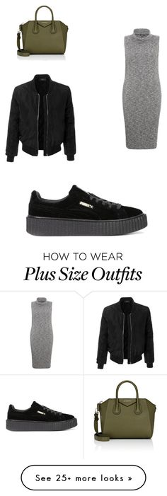 """Untitled #1"" by alpatchel on Polyvore featuring Samya, Givenchy, LE3NO and Puma"