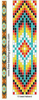 Trust image in free printable native american beading patterns