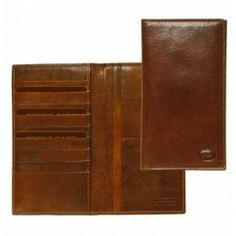 TheBridge Story Uomo Kreditkartenetui Leder braun 10,5 cm 01502201/14