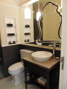 Orchids In The Rest Room Make A Difference Bathroom Ideas Pinterest