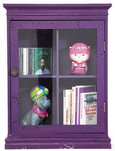 Hanging Cabinet Little Something Purple