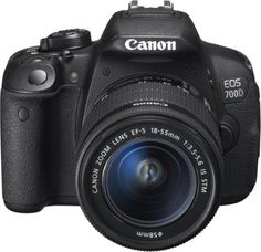 Canon EOS 700D + EF-S18-55 IS STM noir, reflex numérique, écran tactile 3″ (7,6 cm), vidéo full HD | Your #1 Source for Camera, Photo & Video