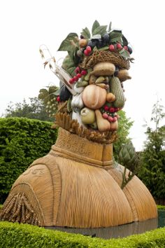 Homage to Giuseppe Arcimboldo. New York Botanical Garden http://decdesignecasa.blogspot.it