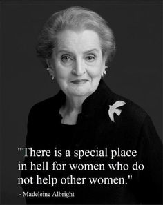 Madeleine Albright (1997 - 2001 Minister of the State)