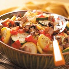 Grilled Garden Veggies Recipe from Taste of Home
