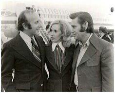 Tammy with Clive Davis and George Jones