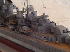 KM Prinz Eugen - PAT KEOUGH, a South African reader, describes his model