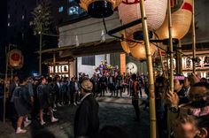 Asakusa Sanja Matsuri 3rd day 20/22 The Ninomiya and the Sanomiya omikoshi are already in place and the most senior leaders of the hikeshi/firemen from all over Asakusa wait for the Ichinomiya, the first to go out and the last to come in, to arrive.  #Asakusa, #Sanja, #Matsuri, #Ninomiya, #Ichinomiya, #Sanomiya, #omikoshi, #Jinja, #hikeshi, Taken on May 18, 2014. © Grigoris A. Miliaresis