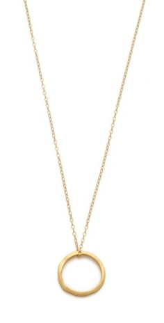 Gorjana G Press Necklace | SHOPBOP