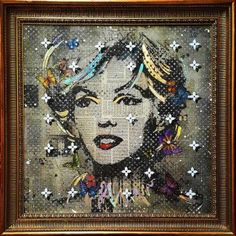 ORIGINAL - Marilyn Monroe on canvas