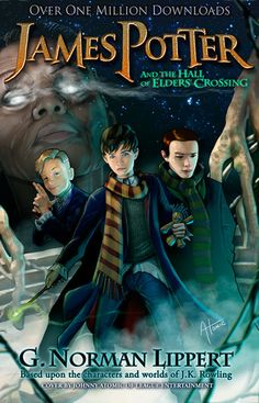 James Potter and the Hall of Elders' Crossing (James Potter, #1) -- Note to self: Check these out, since they've got good reviews on Goodreads and JK Rowling liked them. This fan fiction, based upon the characters and worlds of J. K. Rowling, tells the story of Harry Potter's son James.