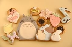 Totoro cookies, Japan