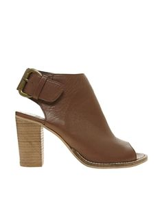 ASOS TOTAL Leather Shoe Boots