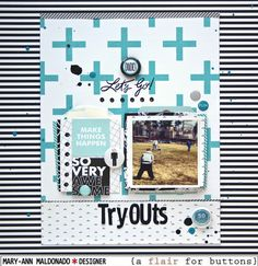 Tryouts by @maldonadomas for #aflairforbuttons using #studiocalico