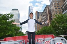 Welcome to #NewYork, Jace Norman! Glad we could give you a tour! #HenryDanger #Nickelodeon