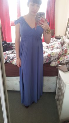 ASOS maternity dress for going on Holiday In LOVE!