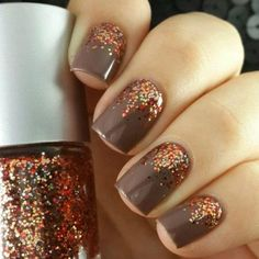 Thanksgiving Day Nail Art - DIY Manicure Ideas for Fall