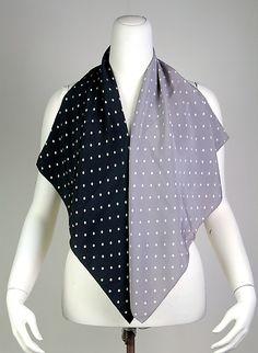 Caroline Reboux scarf 1955