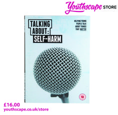 Talking about Self-harm has been used in schools, youth groups and a range of other contexts around the UK as a discussion starter for teenagers. Comprising four short films and some accompanying curriculum resources, the DVD was created using the full involvement of a group of young people who had struggled with the issues discussed in it. This 15-minute DVD includes four short films