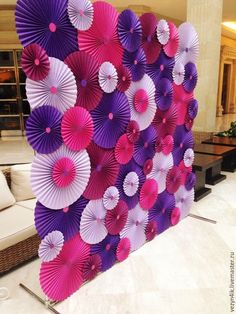 Large Paper Flowers-Backdrop-Wedding Arch-Photo Booth-Flower Wall-Birthday Pary-Nursery Art-Custom-Bridal Shower-Princess- ready to ship Paper Flower Backdrop, Giant Paper Flowers, Diy Flowers, Diy And Crafts, Crafts For Kids, Paper Crafts, Paper Decorations, Birthday Party Decorations, Ganapati Decoration