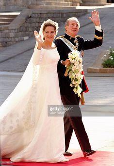 4 October 1997 - King Juan Carlos I at the Wedding of his Daughter, Infanta Cristina of Spain & Iñaki Urdangarín at the Barcelona Cathedral.