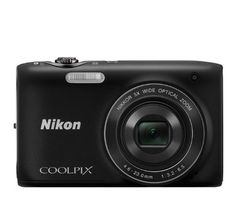 Nikon COOLPIX S3100 14 MP Digital Camera with 5x NIKKOR Wide-Angle Optical Zoom Lens and 2.7-Inch LCD - Black by Nikon. $149.95. From the Manufacturer                 Stay connected, share your life. Can a camera be your BFF?   Ultra-slim body  Slip this ultra-slim, ultra-light COOLPIX S3100 camera into your pocket and you'll never miss a memorable moment. At an incredibly slender 0.8 inches and just 4.2 ounces, it goes wherever the fun is—the beach, the mall, your ...