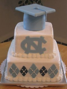 Great graduation cake
