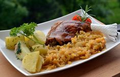 Rozmaringos kacsasült - Keva Blog Rice, Baking, Recipes, Food, Bakken, Recipies, Essen, Meals, Ripped Recipes