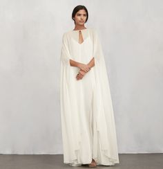 29 Non-Traditional Fall Wedding Dresses for the Modern Bride via Brit + Co Great Idea for a fall wedding in NJ