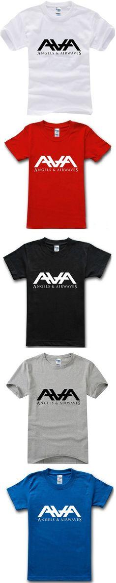 2015 summer music rock ava angels airwaves band t-shirt man casual 100% cotton t shirt short sleeve man top tee plus size