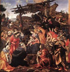 Adoração dos Reis Magos, 1496