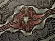 Aboriginal Art Painting by Anna Petyarre Pitjara My Country 82x60cm
